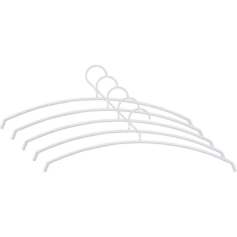 Kledinghanger Silvester wit 5 stuks