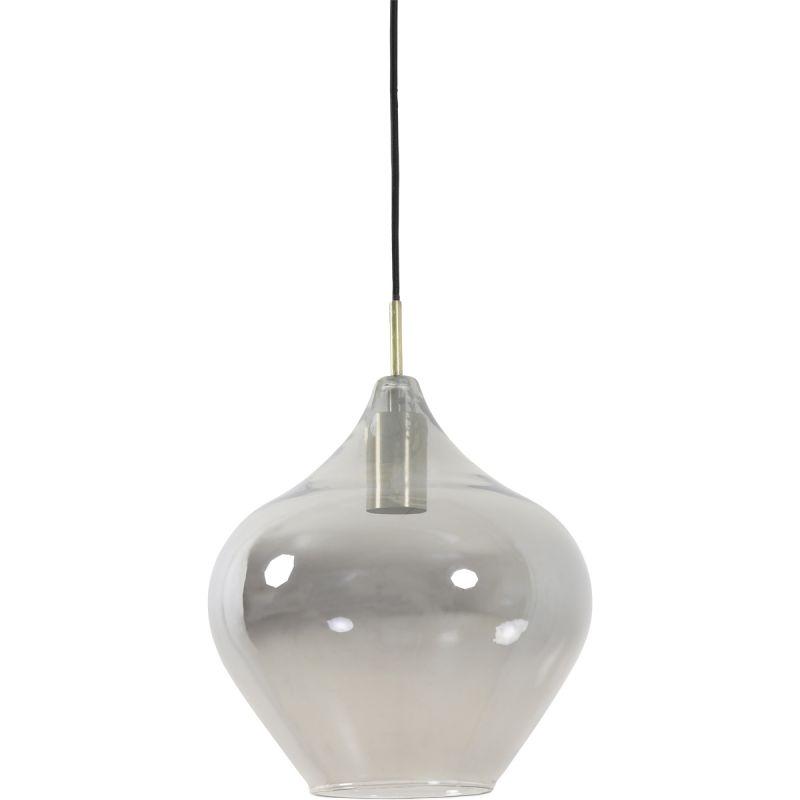 Hanglamp Rolf brons smoke