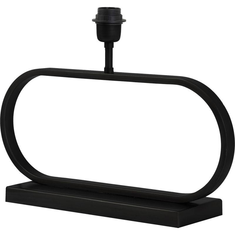 Lampvoet Filippo 47cm breed mat zwart