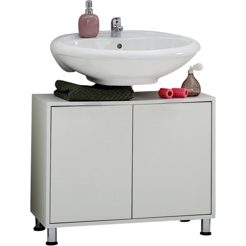 Badkamerkast 2 deuren Zamora Wit