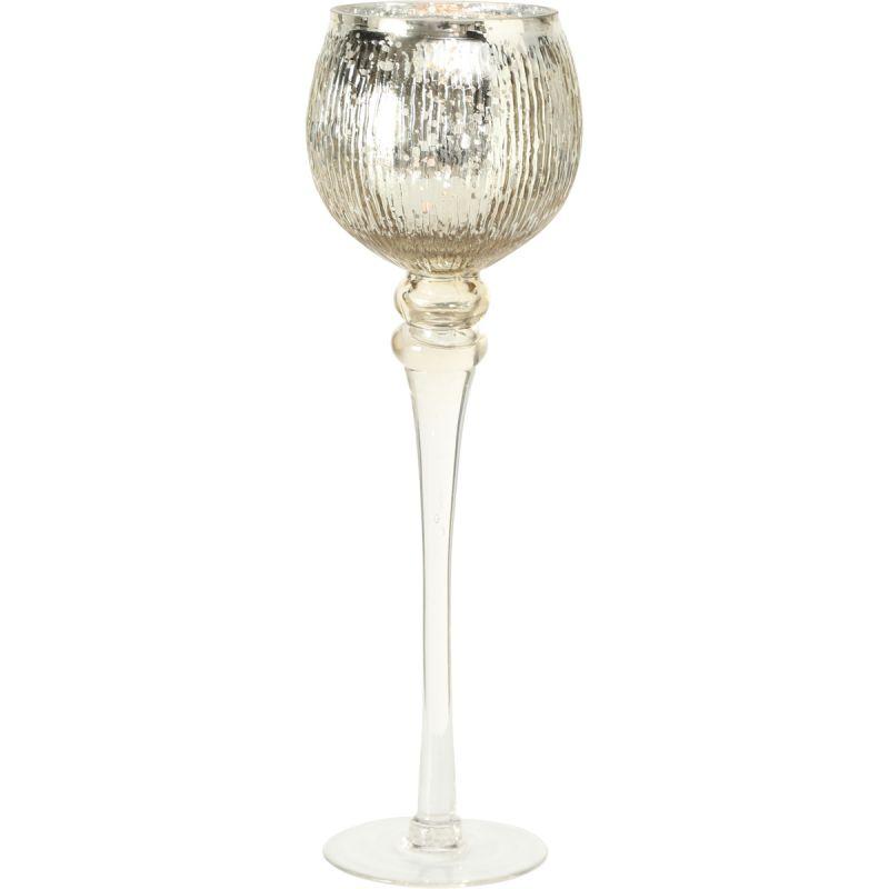 Windlicht Milou champagne 40cm