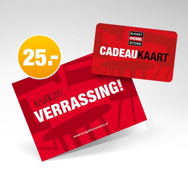 Budget Home Store Cadeaukaart 25 euro