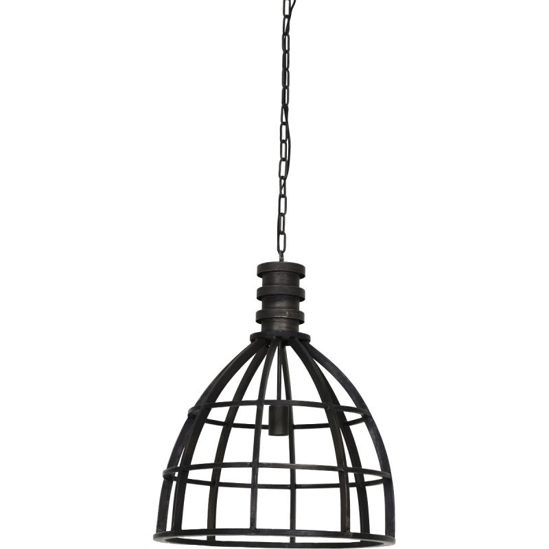 Hanglamp Indy 50x62,5cm antiek zwart