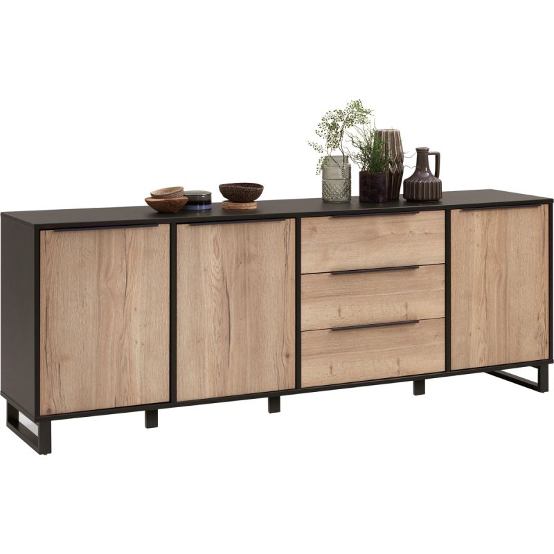 Dressoir 3 deuren, 3 laden Copina