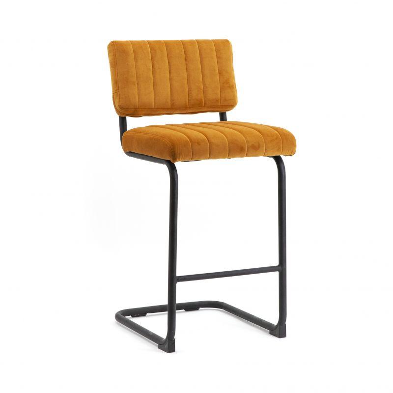 Bar chair low Operator - ochre