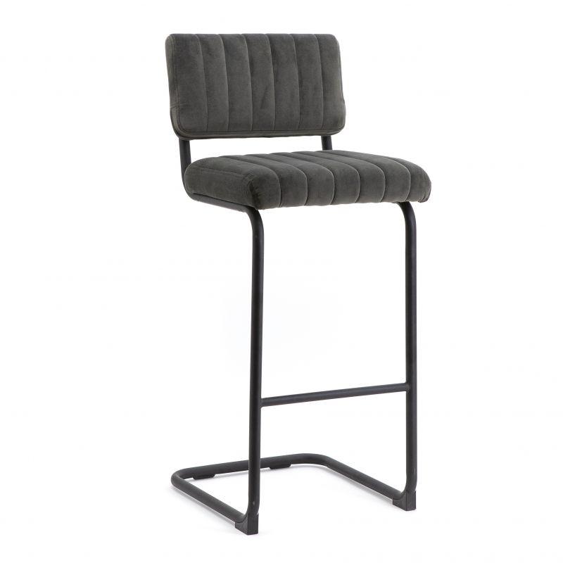 Bar chair high Operator - grey