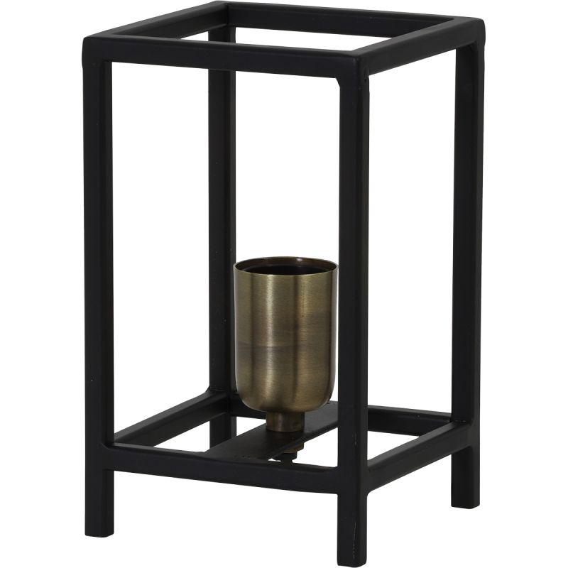 Tafellamp Marly 12x12x20cm mat zwart